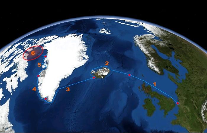 Route en Atlantique prévue en 2015