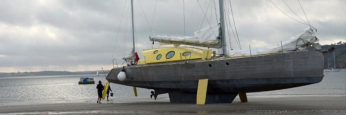 Nanuq: un voilier capable d'affronter des froids extrêmes